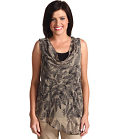 Mac & Jac - Fern Print Layered Tank