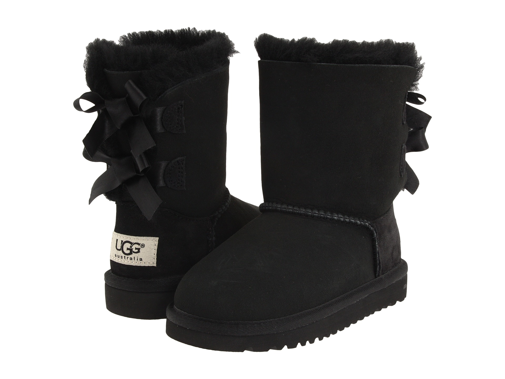 UGG Kids Bailey Bow (Toddler/Little Kid) - Zappos.com Free ...