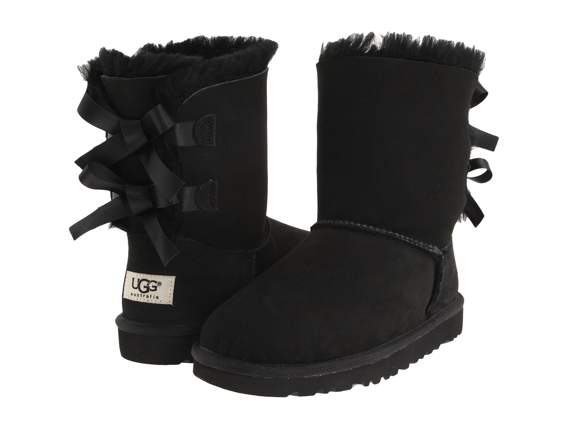 UGG Kids Bailey Bow (Little Kid/Big Kid) at Zappos.com