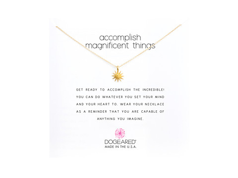 Dogeared Accomplish Magnificent Things Necklace 16