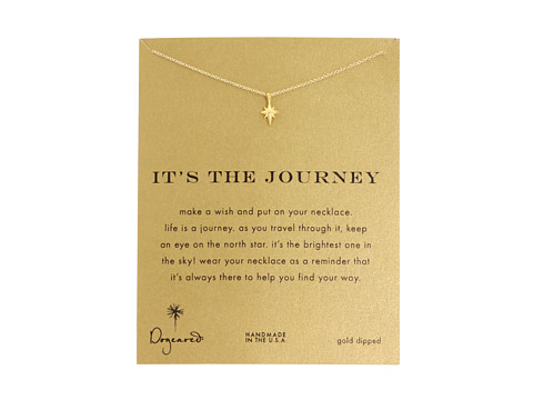 Dogeared It s The Journey Necklace 16 inch - Gold