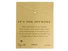 Dogeared It's The Journey Necklace 16 inch
