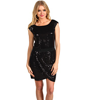 Laundry by Shelli Segal - Sequin Dress With Grosgrain Band