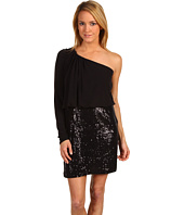 Laundry by Shelli Segal - One Shoulder Dress w/ Sequins
