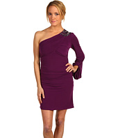 Laundry by Shelli Segal - Asymmetrical One Shoulder Bubble Dress w/ Embellishments