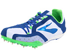 Brooks - Elmn8 (White/Deep Royal/Brooks Brite Green/Silver/Black) - Footwear
