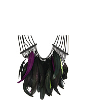 Noir Jewelry - Feather Collection Statement Necklace