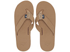 Vineyard Vines Leather Flip Flops (Khaki)