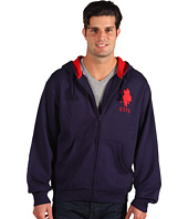 U.S. Polo Assn - Full Zip L/S Hoodie Thermal/Fleece