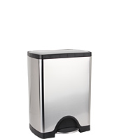 simplehuman - 30L Rectangular Deluxe Step Can - Classic
