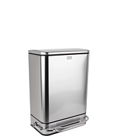 simplehuman - 38L Steel Bar Rectangular Step Can