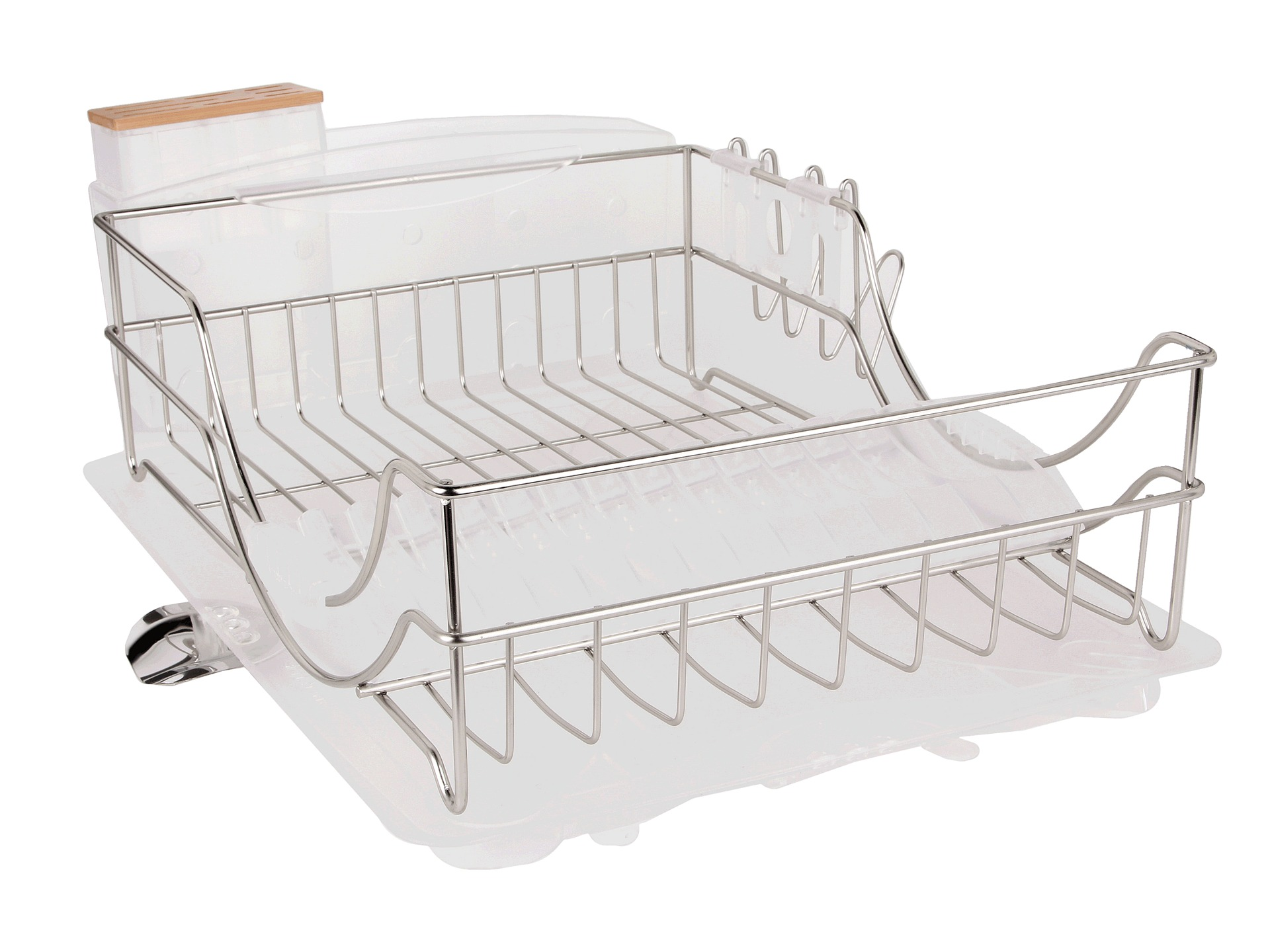 Kitchen Dish Rack Kitchen Dish Drainer Home 2 Tier Dish Rack Basics Drainer Chrome