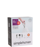 simplehuman - 30L Code H Can Liners - 50 Pack
