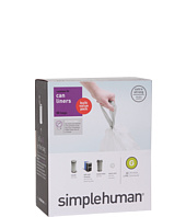 simplehuman - 30L Code G Can Liners - 50 Pack