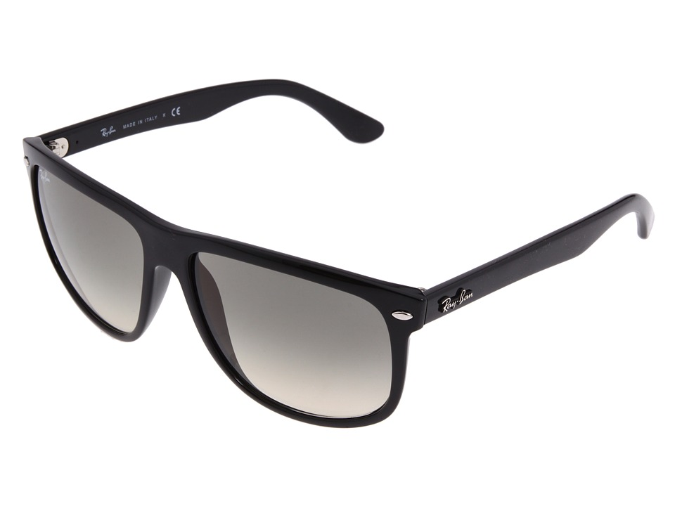 Ray-Ban - RB4147 Boyfriend (Black/Black) Fashion Sunglasses