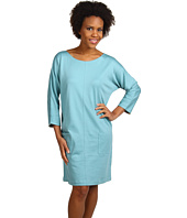 Joan Vass - Dolman Button Dress