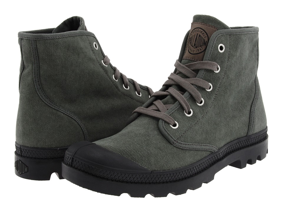 Palladium Pampa Hi (Stonewashed Metal) Men