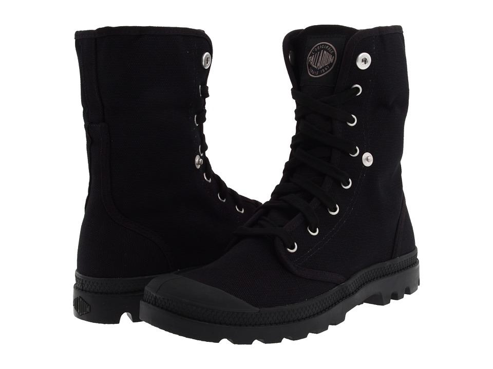 Palladium - Baggy (Black/Black) Mens Lace-up Boots