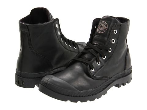 Palladium Pampa Hi Leather - Black