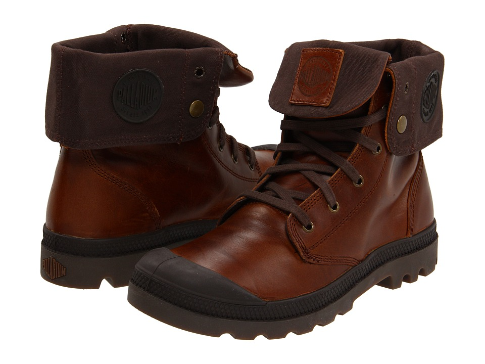 Palladium Baggy Leather (Sunrise/Chocolate) Men