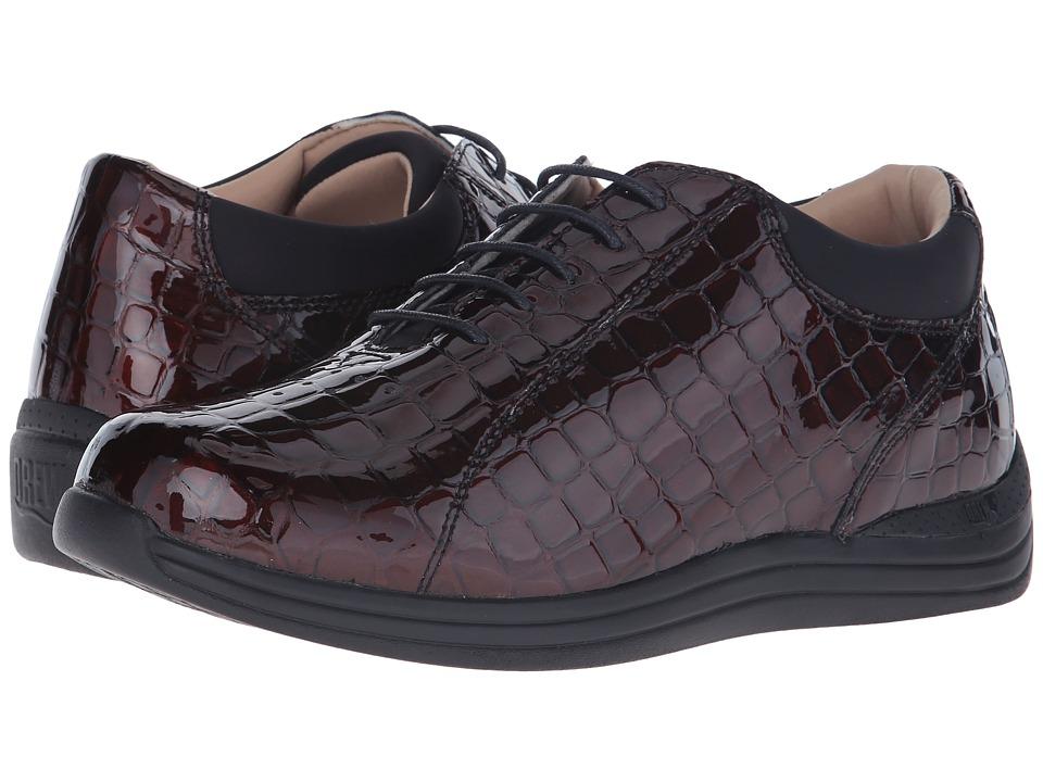 Drew Tulip (Brown Croc) Women's Shoes