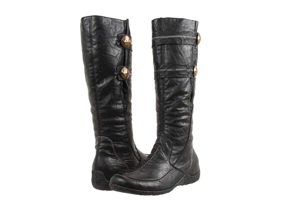 Rieker 79970 Astrid 70 (Black) Women's Zip Boots