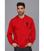 U.S. POLO ASSN. - Full Zip Long Sleeve Hoodie with Big Pony