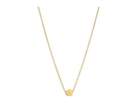 Dogeared Circle Necklace - Gold-Dipped