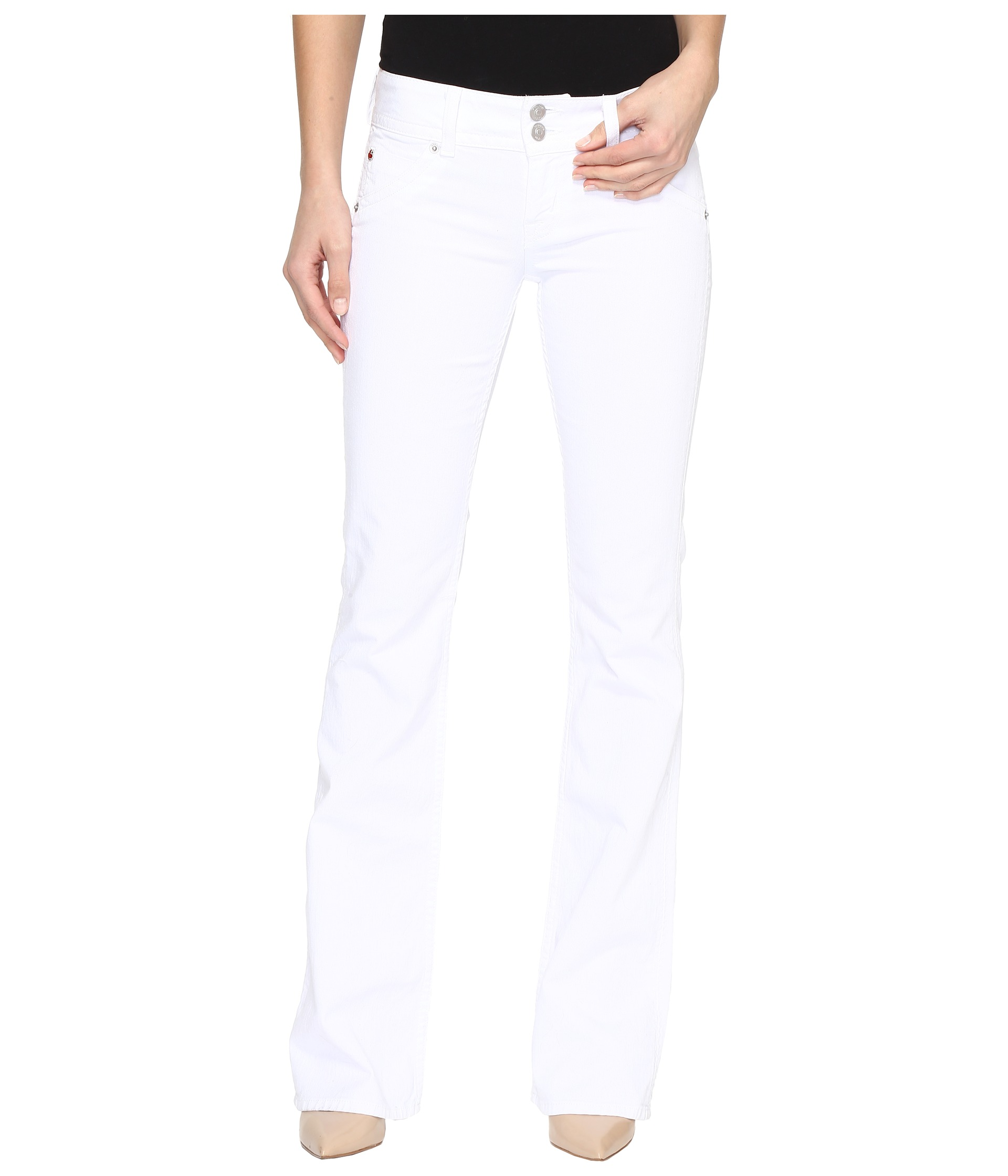 Hudson, Jeans, White, Women | Shipped Free at Zappos