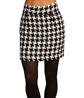 Fred Perry - Amy Winehouse Collection High Waisted Houndstooth Pencil Skirt