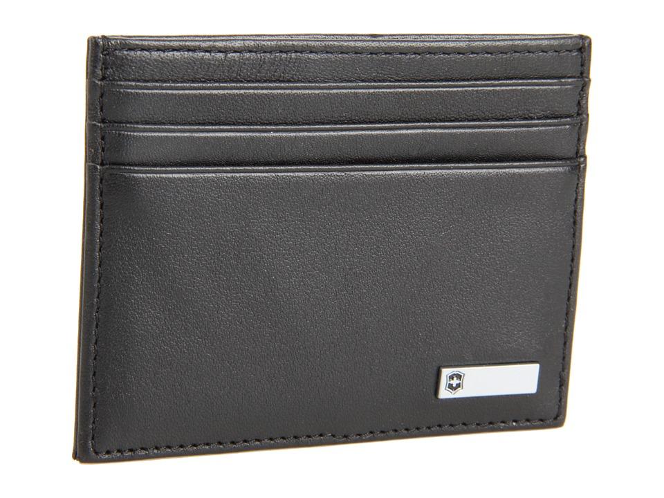 Victorinox - Altiustm 3.0 - Rome Leather Money Clip (Black Leather) Credit card Wallet