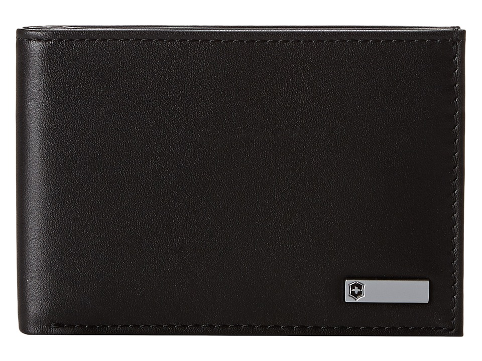 Victorinox - Altiustm 3.0 - Moritz Leather Slim Bi-Fold Wallet (Black Leather) Wallet