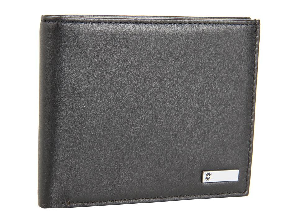 Victorinox - Altiustm 3.0 - Barcelona Leather Bi-fold Wallet (Black Leather) Wallet