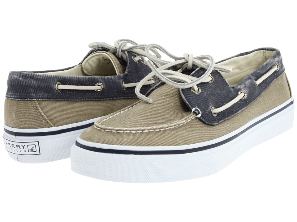 Sperry Top-Sider Bahama 2-Eye (Navy/Taupe) Men