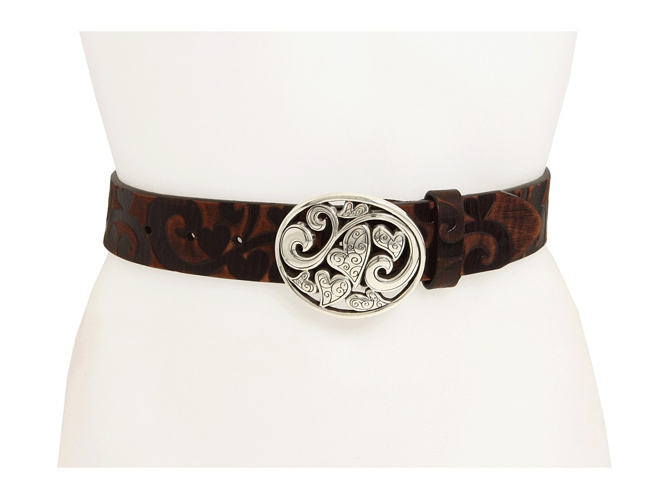 Brighton - Love Carnival Belt (Dark Brown) Womens Belts