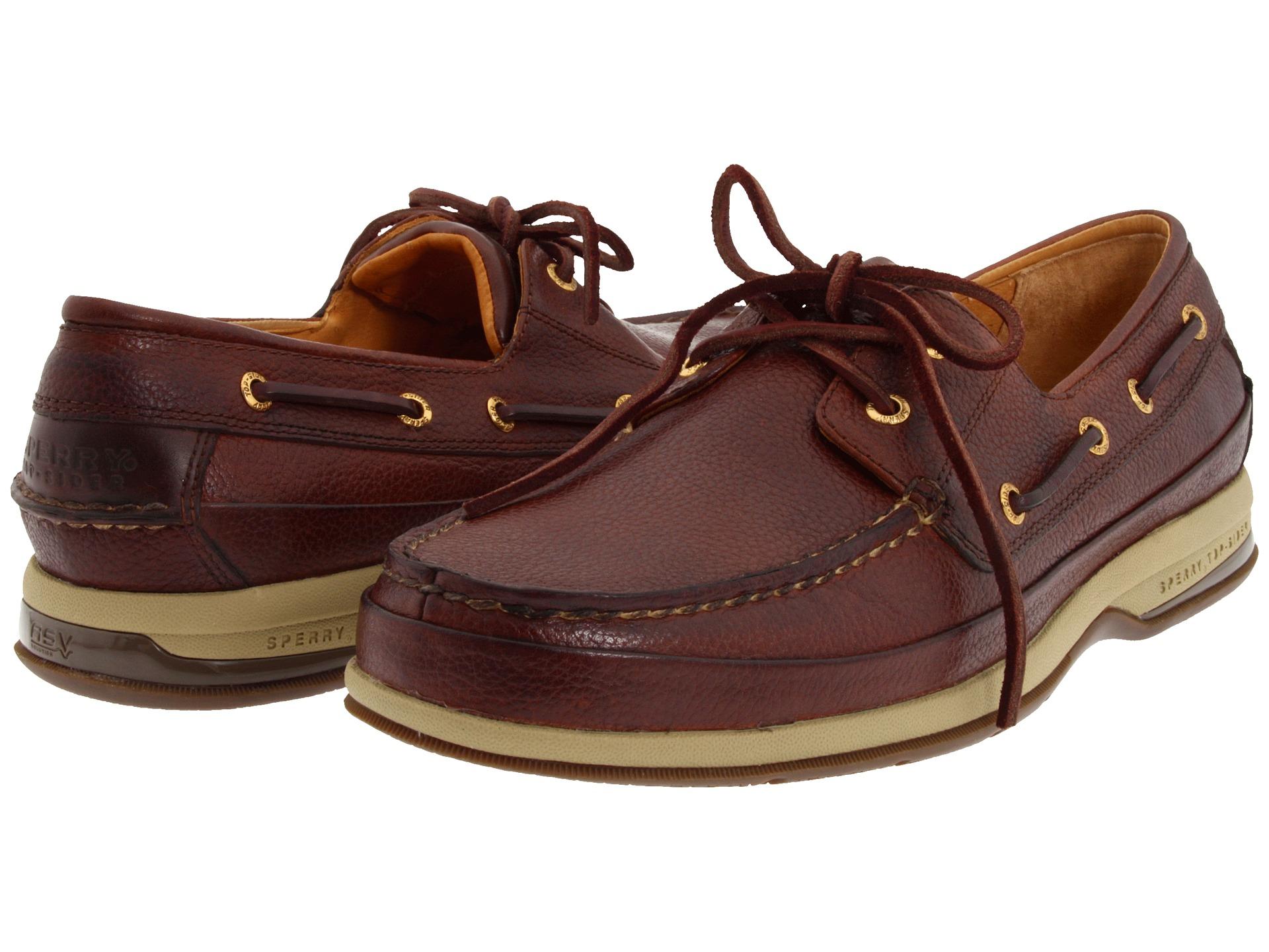 Sperry Top Sider Men S A O Mini Lug  Eye Boat Shoe