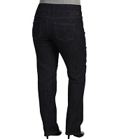 Jag Jeans Plus Size - Plus Size Peri Pull-On Straight in Indigo Rinse