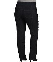 Jag Jeans Plus Size - Plus Size Peri Pull-On Straight in Indigo Rinse