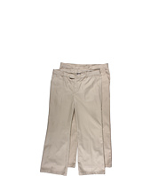 French Toast - Girl's Flat Front Twill Pant (Big Kids-Plus)