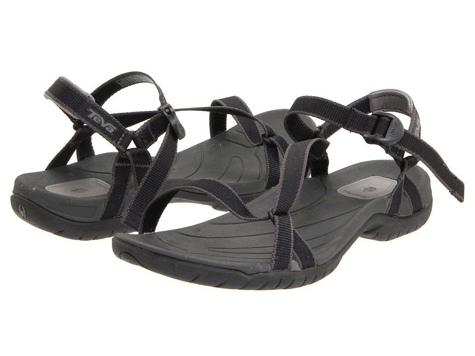Teva - Zirra (Black) Women's Shoes