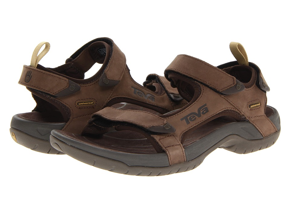 Teva Tanza Leather (Brown) Men