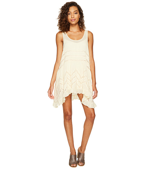 Free People Voile Trapeze Slip - Tea Combo