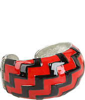 Kenneth Jay Lane - Art Deco Enamel Cuff
