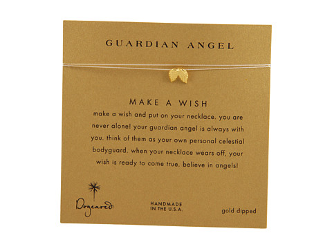 Dogeared Make A Wish Guardian Angel Necklace