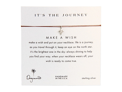 Dogeared Make A Wish It's The Journey Necklace