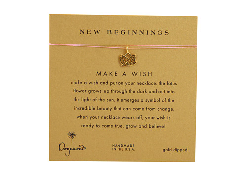 Dogeared Make A Wish New Beginning Necklace