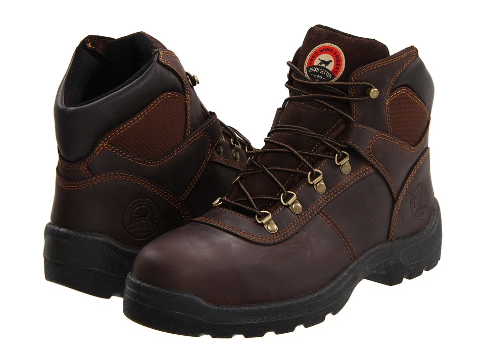 Irish Setter 83608 6 Steel Toe Brown Mens Work Boots