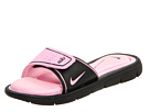 Nike - Comfort Slide (Black/Perfect Pink)