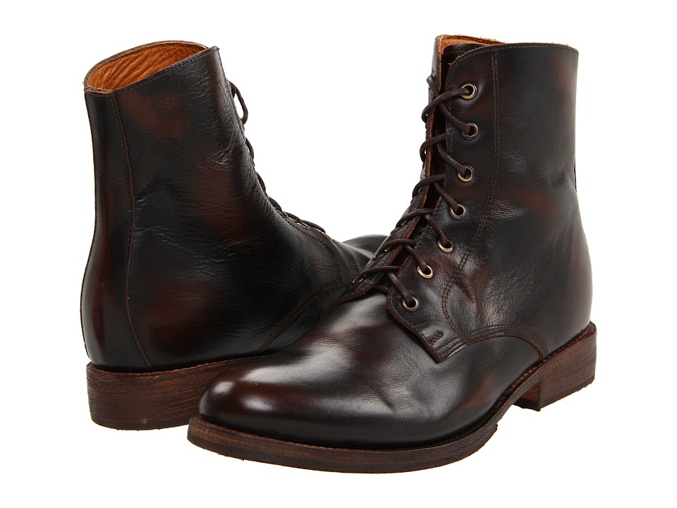 Bed Stu Post Brown Mens Lace up Boots