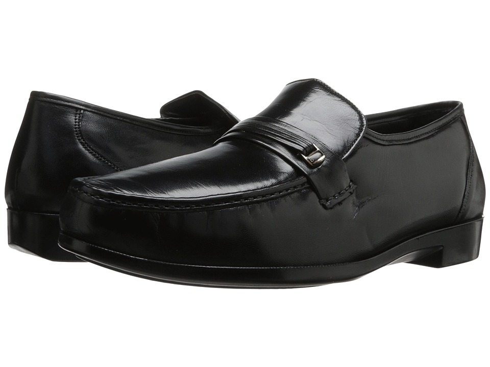 Bostonian - Prescott (Black Leather) Men